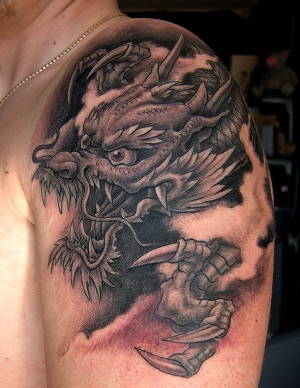 Dragon Tattoo NYC. Japanese Tattoo