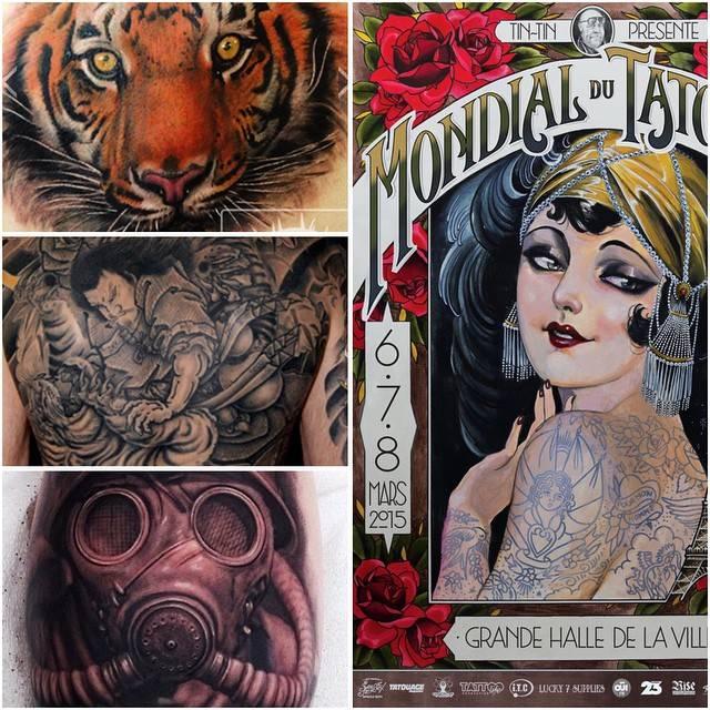 Paris Tattoo Convention