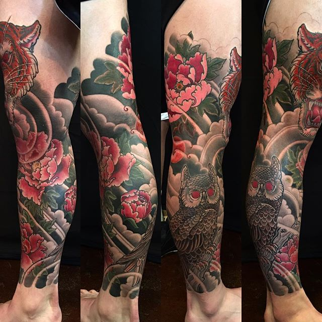 peony japanese tattoo