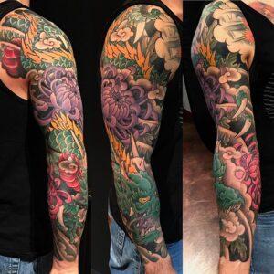 Dragon japanese tattoo