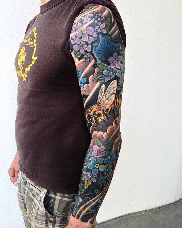Japanese tattoo full sleeve
